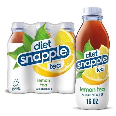 Diet Snapple Lemon Tea - 6pk/16 fl oz Bottles