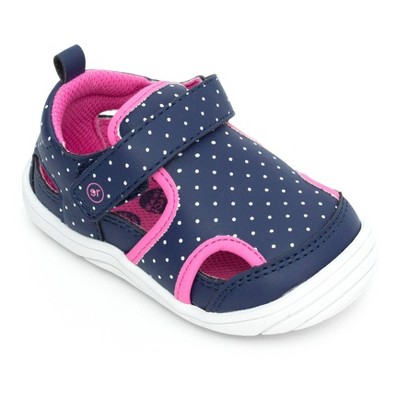 Baby Surprize by Stride Rite Fisherman Sandals - Navy