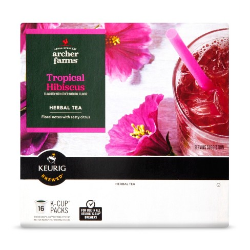 Coffees Hibiscus Iced Tea 16ct - Archer Farms™ - image 1 of 1