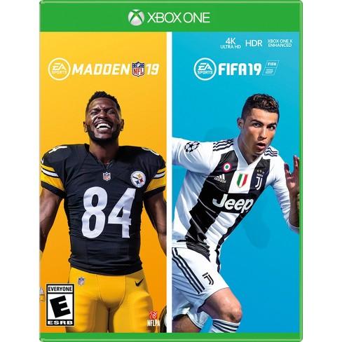 Madden NFL 19   FIFA 19 Bundle - Xbox One   Target 87597f9bdf1