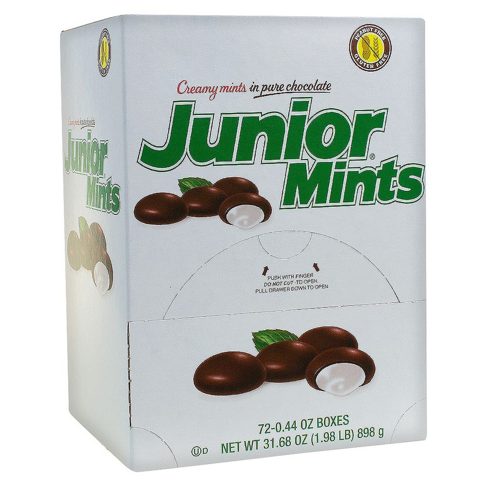 Junior Mints Candy - 0.44oz/72ct, Brown