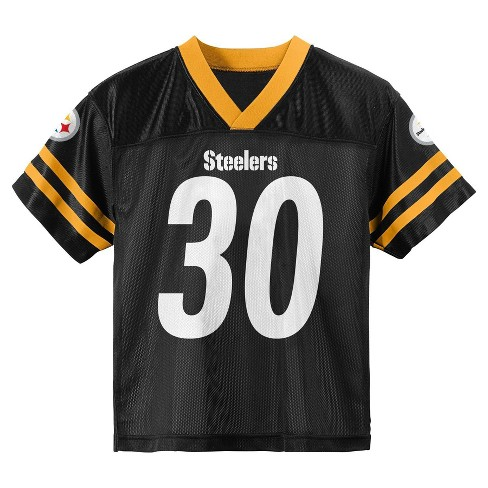 sports shoes 44d21 d15ed NFL Pittsburgh Steelers Toddler Boys' Conner James Jersey - 2T