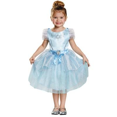 Kids' Cinderella Classic Halloween Costume XS (4 - 6)