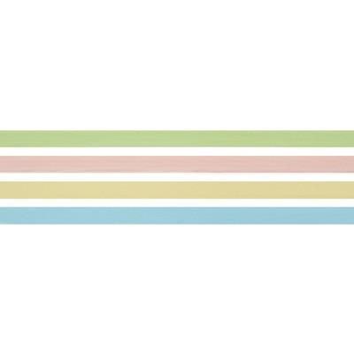 "18'x.38"" Pastel 4 Solid Color Curling Gift Wrap Ribbon per color - Spritz™"