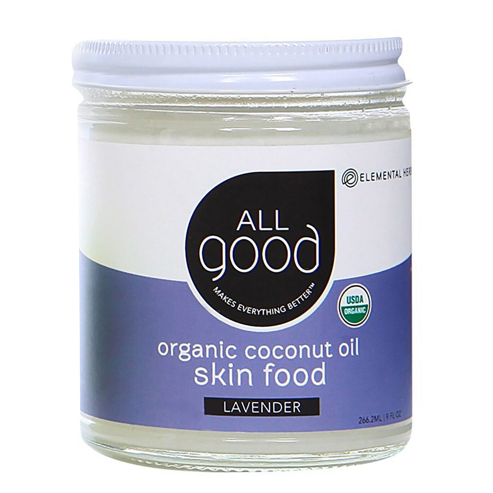 Image of All Good Lavender Coconut Oil Skin Food - 7.5oz