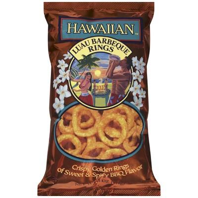 Hawaiian Snacks Luau Barbeque Rings - 4oz