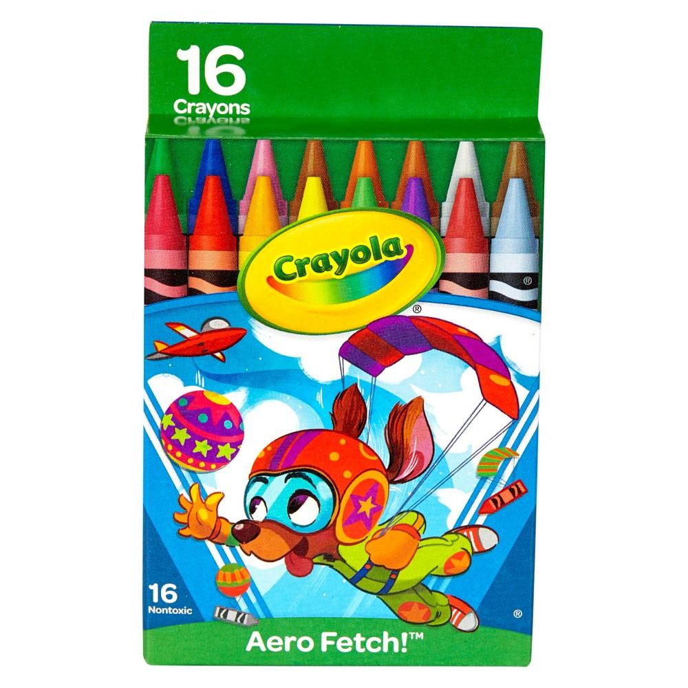 Crayola Crayon Pack 16ct Aero Fetch, Multi-Colored
