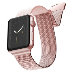 X-Doria Hybrid Mesh Band for 38mm Apple Watch - Rose/Pink