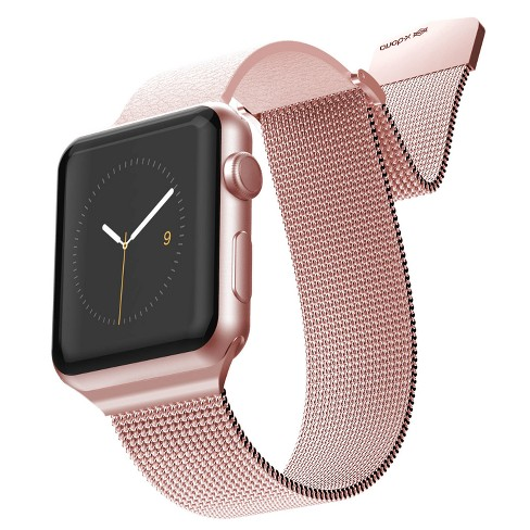 low priced d2ea5 d62b3 X-Doria Hybrid Mesh Band for 38mm Apple Watch - Rose/Pink