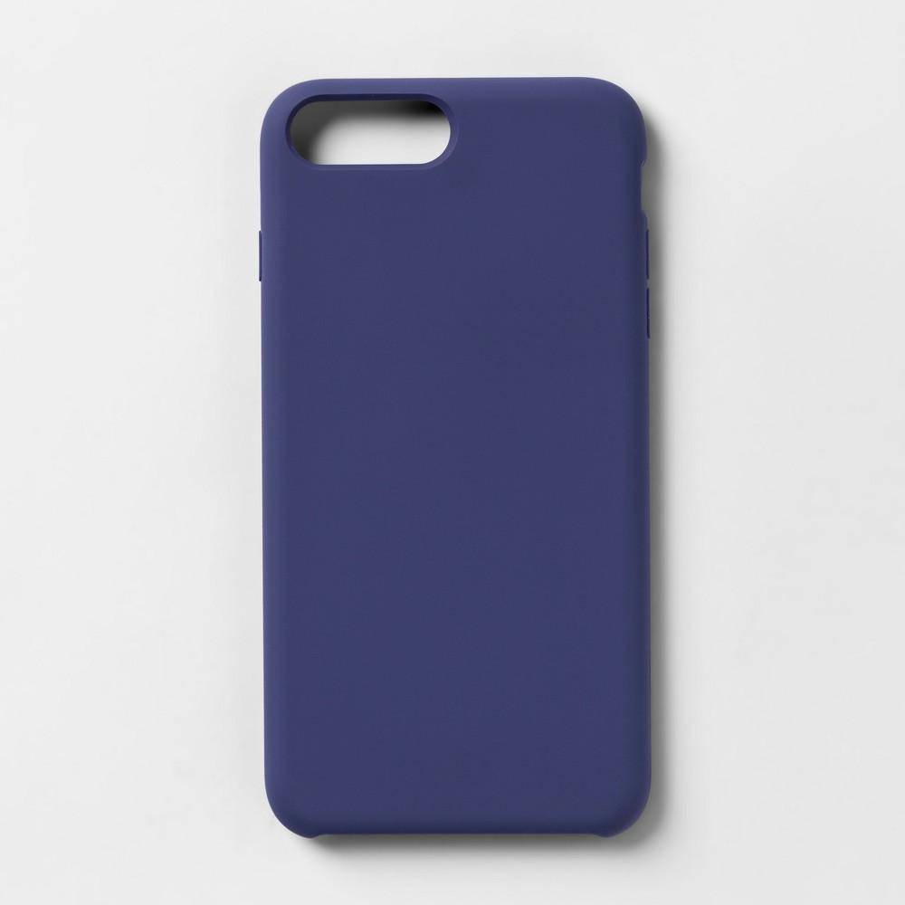 heyday Apple iPhone 8 Plus/7 Plus/6s Plus/6 Plus Silicone Case - Purple