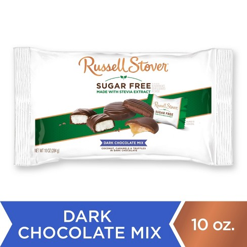 Russell Stover Sugar Free Dark Chocolate Assortment - 10oz - image 1 of 4