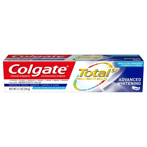 Colgate Total Advanced Teeth Whitening Toothpaste - 5.1oz - image 1 of 4