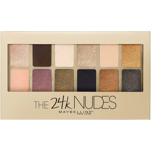 Maybelline The24KT Nudes Eye Shadow Palette 120 0.34oz - image 1 of 4