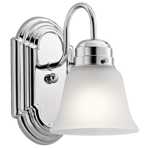 "Kichler 5334S Single Light 5-1/4"" Wide Bathroom Sconce - image 1 of 1"