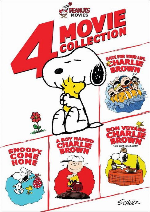 Peanuts: 4 Movie Collection [4 Discs] (DVD) - image 1 of 1