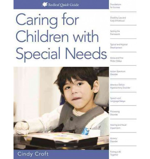 Caring for Young Children With Special Needs (Paperback) (Cindy Croft) - image 1 of 1