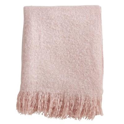 Faux Mohair Throw Blanket - Saro Lifestyle : Target