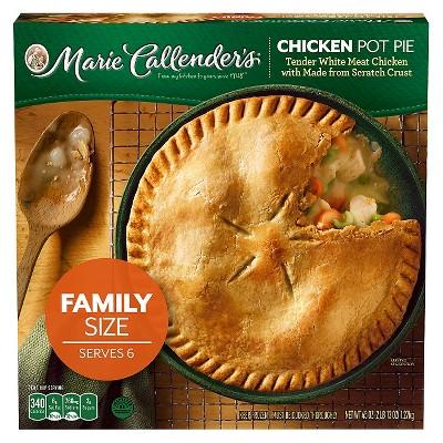 Marie Callender's Frozen Chicken Pot Pie Family Size - 45oz
