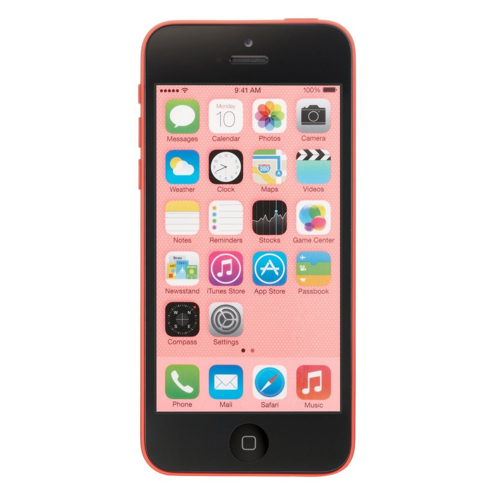 Apple iPhone 5c Certified Pre-Owned (GSM Unlocked) 16GB Smartphone - Pink