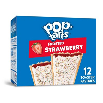 Kellogg's Pop-Tarts Frosted Strawberry Pastries - 12ct/20.31oz