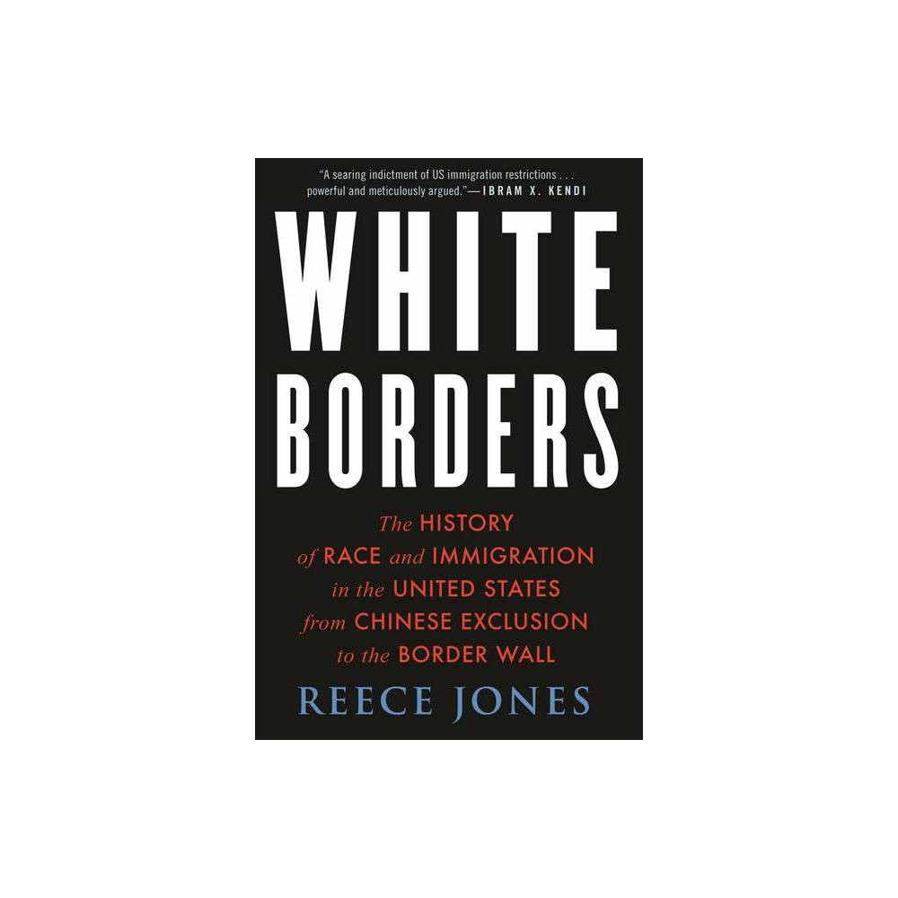 White Borders By Reece Jones Hardcover