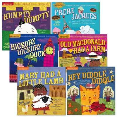 Indestructibles Classic Nursery Rhymes - Set of 6