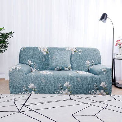 1 Pc Polyester Spandex 1 Seater Home Sofa Slipcovers - PiccoCasa