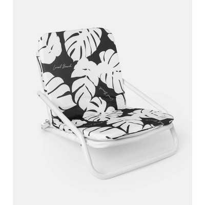Palm Fronds Aluminum Outdoor Portable Beach Chair - Local Beach