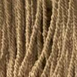Wool Dots/Fringe Natural