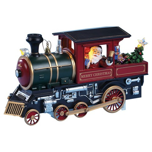 Santa in Train Decorative Holiday Figurine - image 1 of 1