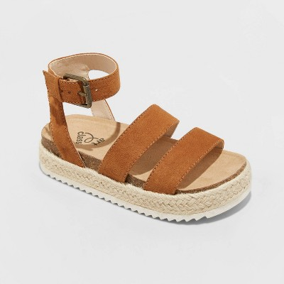 Girls' Agatha Buckle Footbed Sandals - art class™