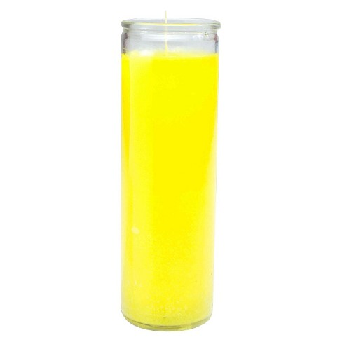 Jar Candle Yellow 11.3oz - Continental Candle - image 1 of 3