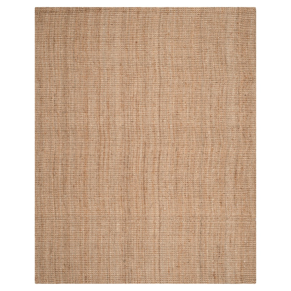 Natural Solid Loomed Area Rug 10'x14' - Safavieh