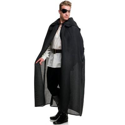 Charades Burlap Cloak Accessory