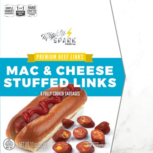 Man Cave Meats Mac & Cheddar Cheese Stuffed Awesome Beef Links - 6ct/10oz - image 1 of 1