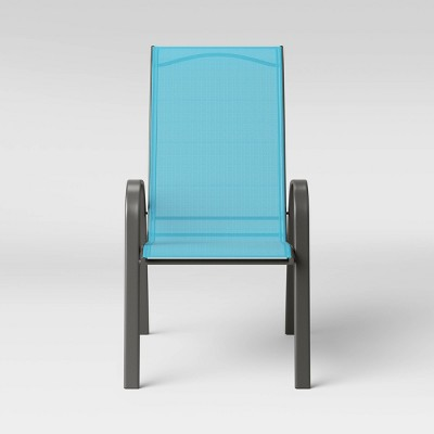 Sling Stacking Patio Chair - Blue - Room Essentials™