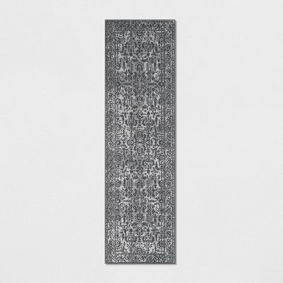 2'X7' Splatter Tufted Accent Rugs Gray - Threshold™