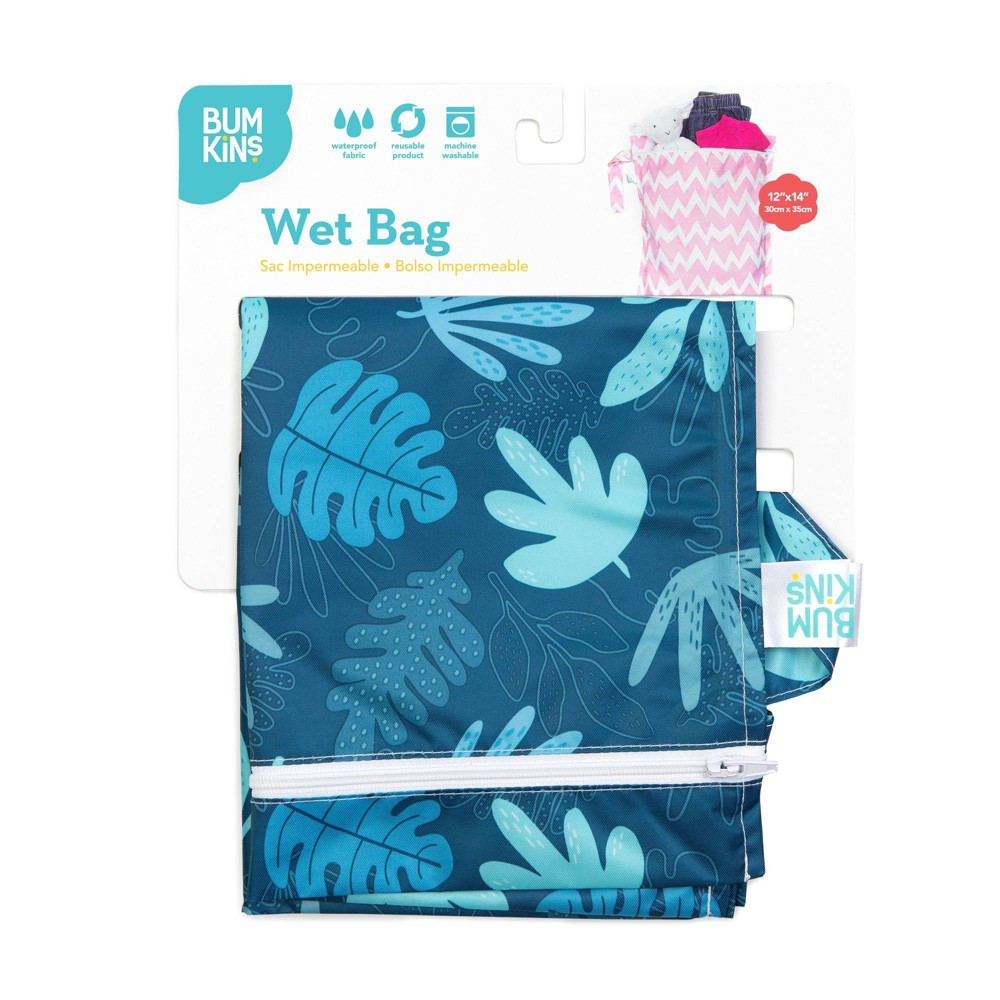 Image of Bumkins Wet Bag Blue Tropic