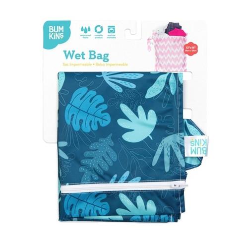 Bumkins Wet Bag Blue Tropic - image 1 of 4