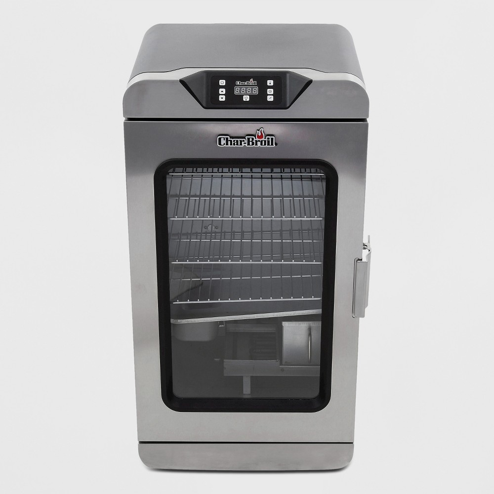 Char-Broil 725 Deluxe Digital Electric Smoker, Silver