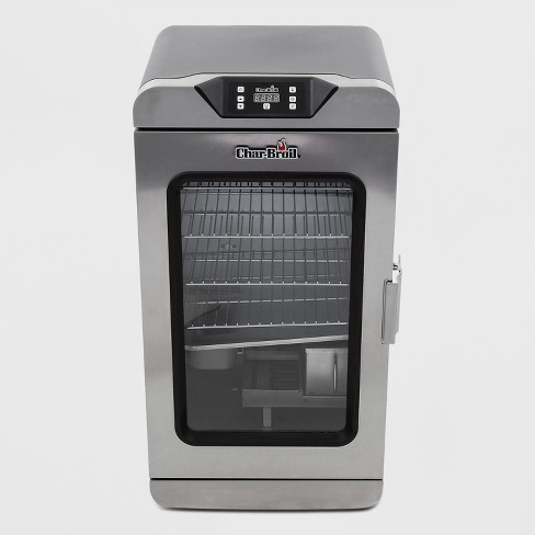 Char-Broil 725 Deluxe Digital Electric Smoker 17202004 - Silver - image 1 of 4