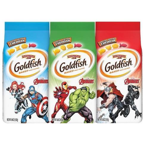 Goldfish Crackers Featuring Marvel Avengers - 6.6oz - image 1 of 4