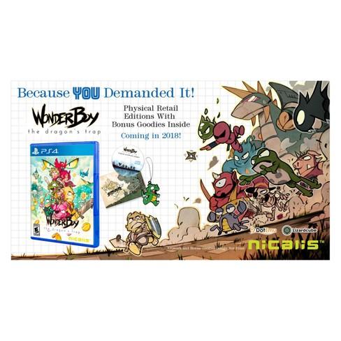 Wonder Boy: The Dragon's Trap - PlayStation 4 - image 1 of 4