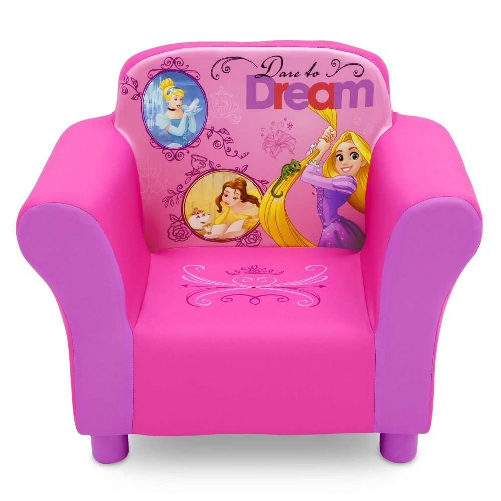Image of Disney Princess Upholstered Chair - Delta Children