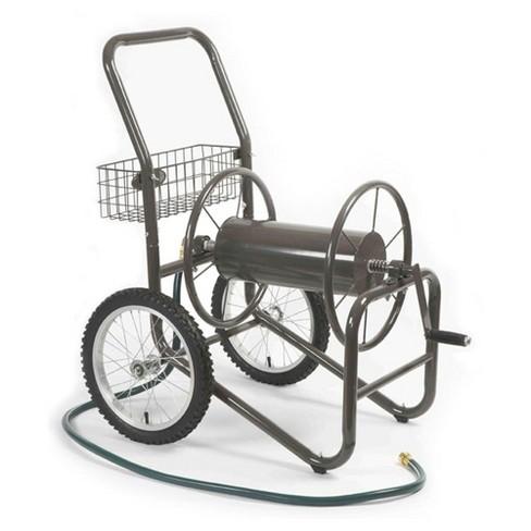 Liberty Garden 880 2 Wheel 300 Foot Steel Frame Water Hose Reel Cart with Basket - image 1 of 2