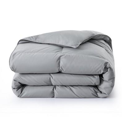 Puredown All Seasons Ultra-Soft 75% Down Comforter with Soft Peach Skin Fabric