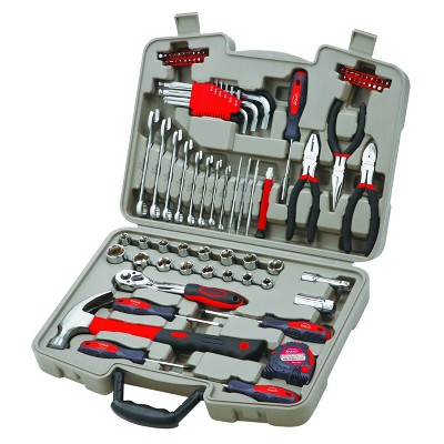 Apollo Tools 86pc General Tool Kit DT0138 Red