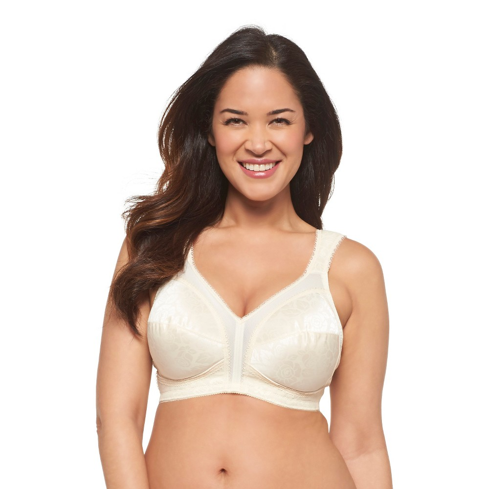 Playtex 18 Hour Womens Original Comfort Strap Wireless Bra 4693 Natural Beige - 50D Cheap