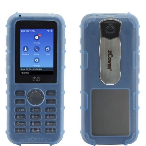 zCover Dock-in-Case CI821 Carrying Case IP Phone - Blue, Transparent - image 1 of 1