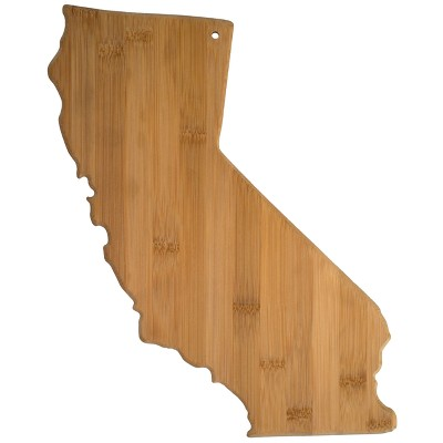 Totally Bamboo California State Cutting Board 14.25  x 11